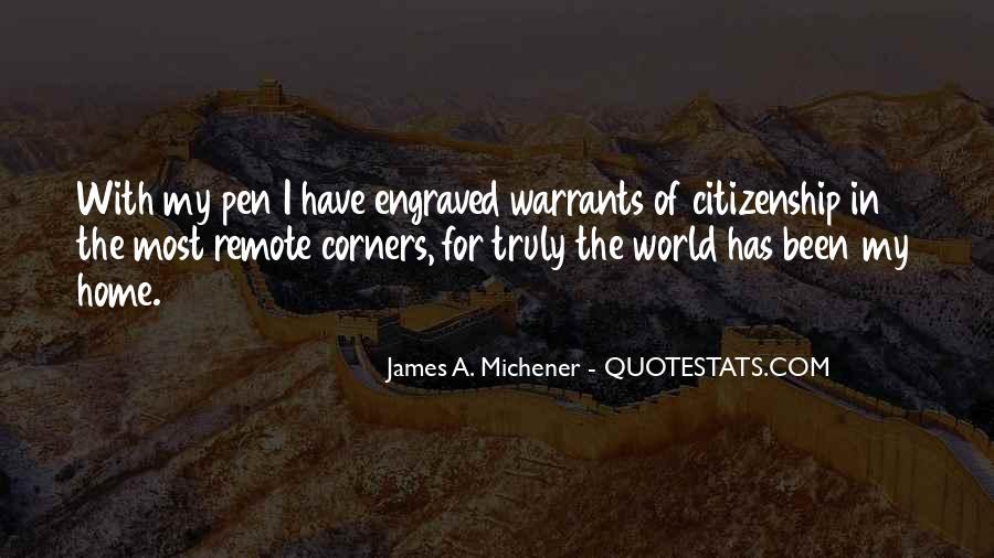 Michener Quotes #49316