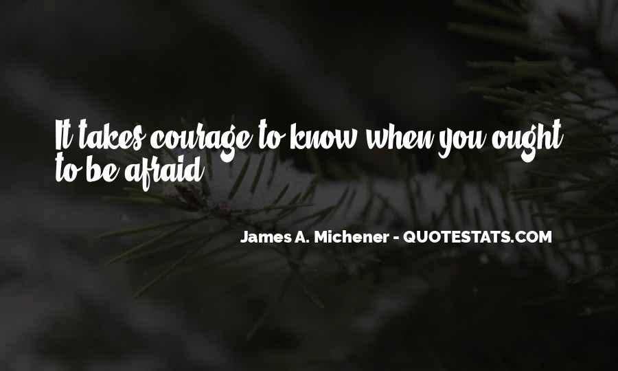 Michener Quotes #606464