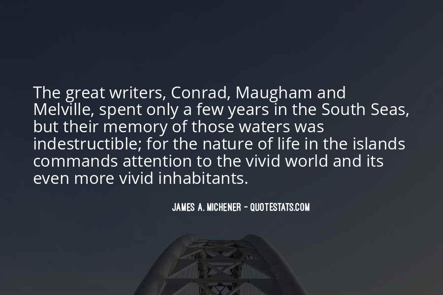 Michener Quotes #781610