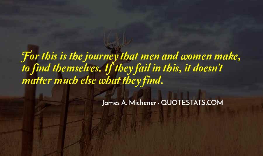 Michener Quotes #840115