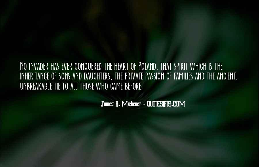 Michener Quotes #853550
