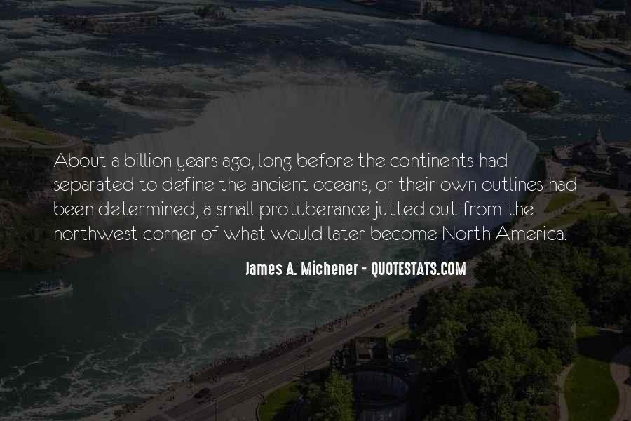 Michener Quotes #870466