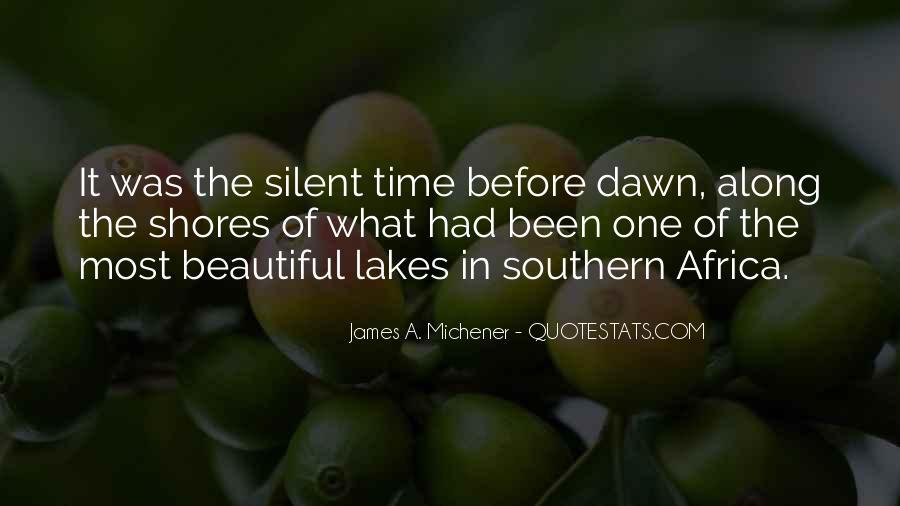 Michener Quotes #914164