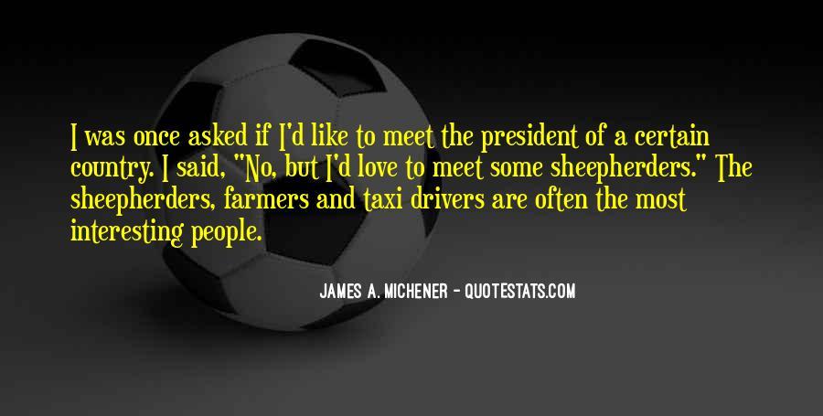 Michener Quotes #940335
