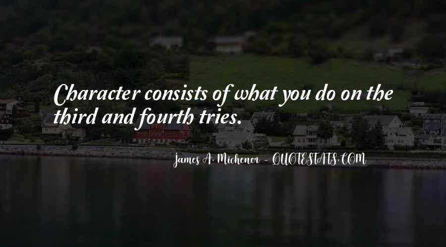 Michener Quotes #945852