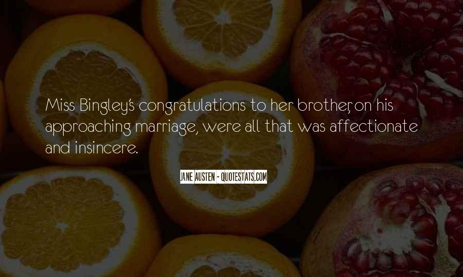 Quotes About Congratulations Marriage #1187