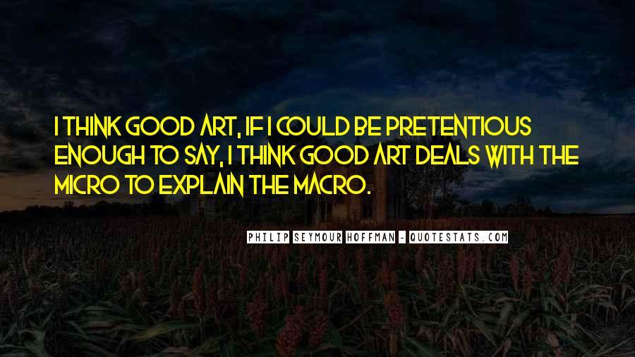 Micro Macro Quotes #1191876