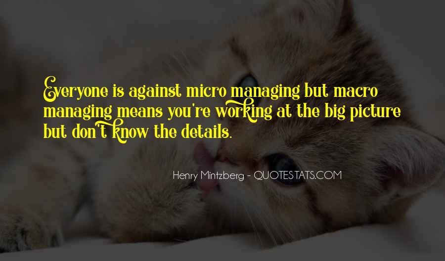 Micro Macro Quotes #1792876