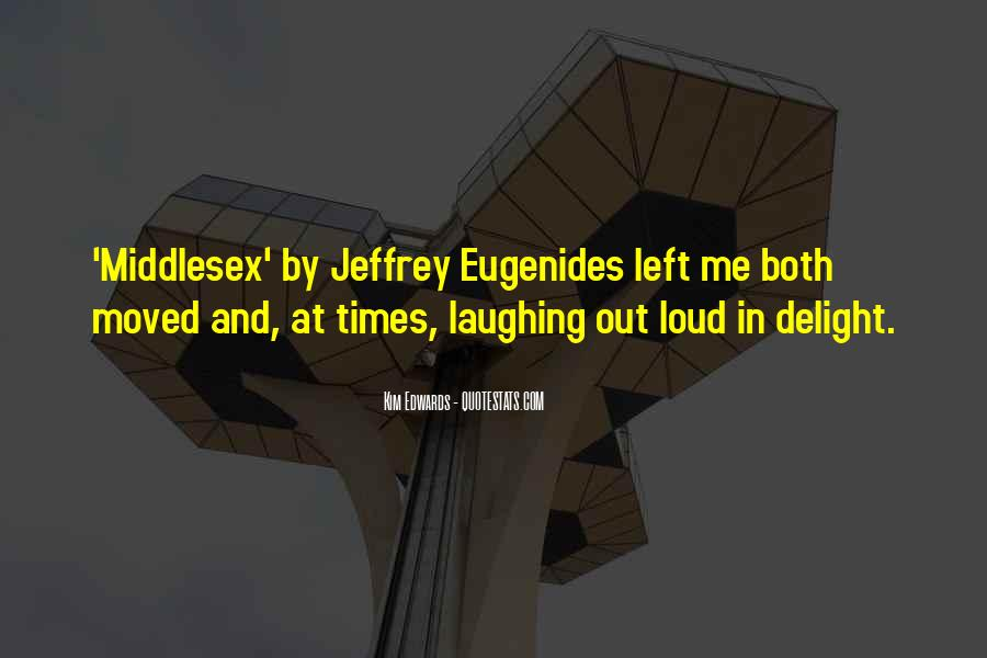 Middlesex Eugenides Quotes #803431