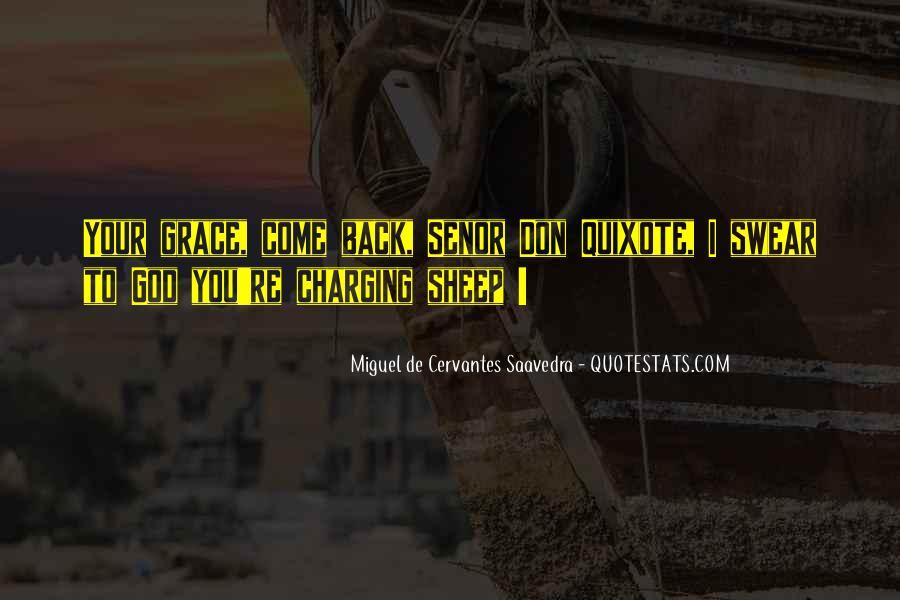 Miguel De Cervantes Saavedra Don Quixote Quotes #1050805