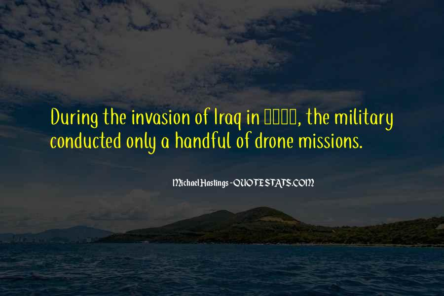 Military Invasion Quotes #1419239