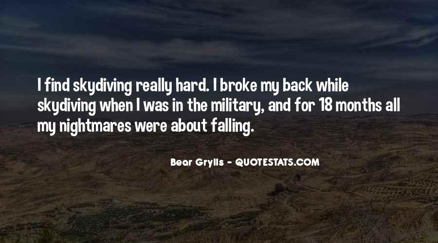 Military Skydiving Quotes #1268857