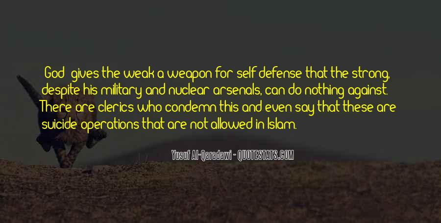 Military Weapon Quotes #1516504
