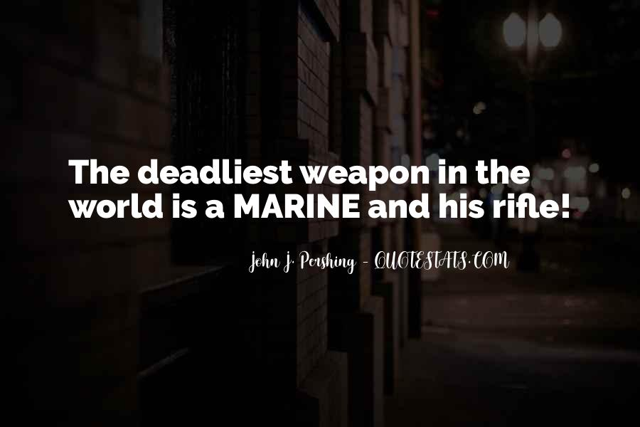 Military Weapon Quotes #1870555