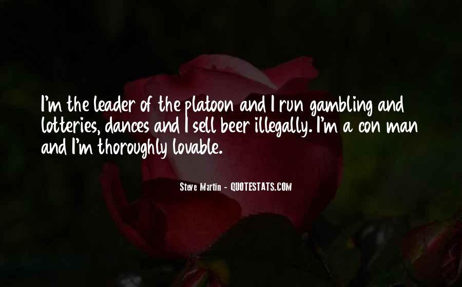 Quotes About Con Men #111575