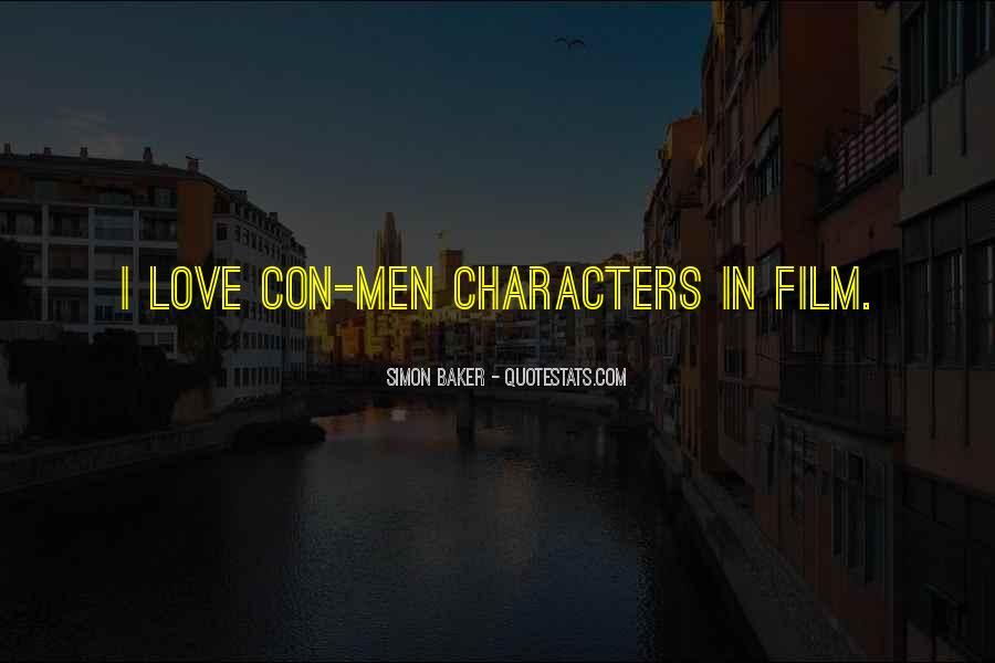 Quotes About Con Men #1207660