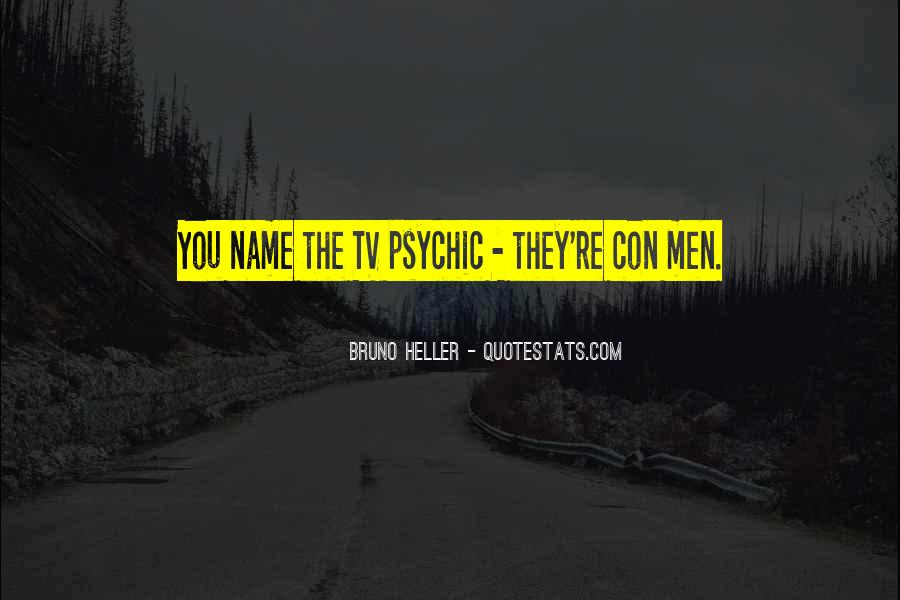 Quotes About Con Men #1489968