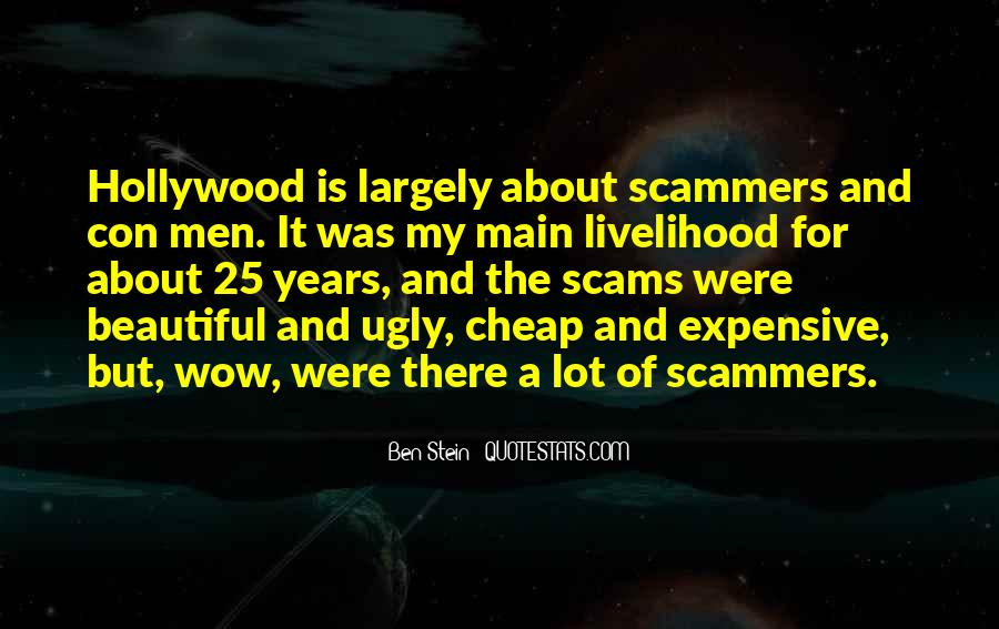 Quotes About Con Men #338306