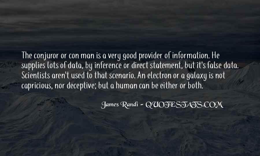 Quotes About Con Men #368259