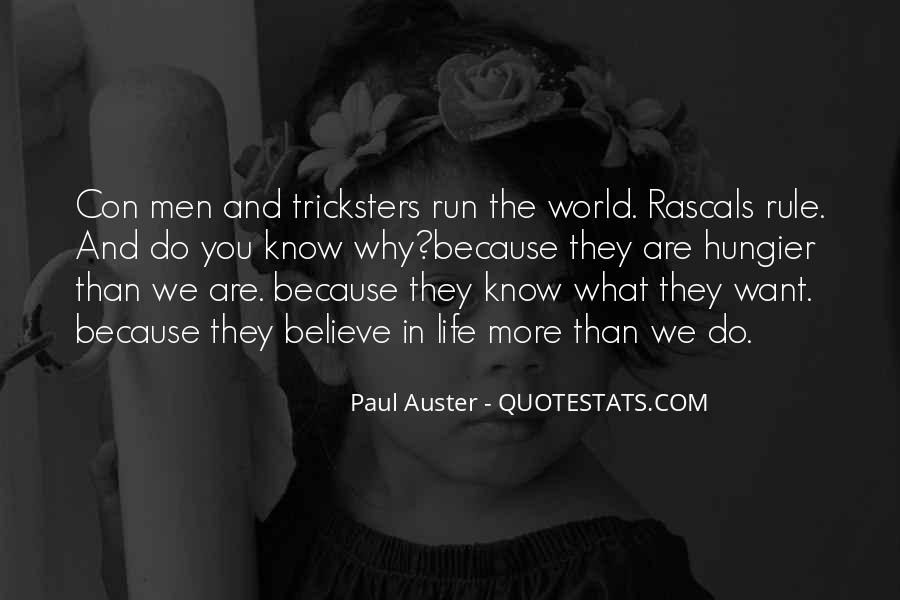 Quotes About Con Men #404093
