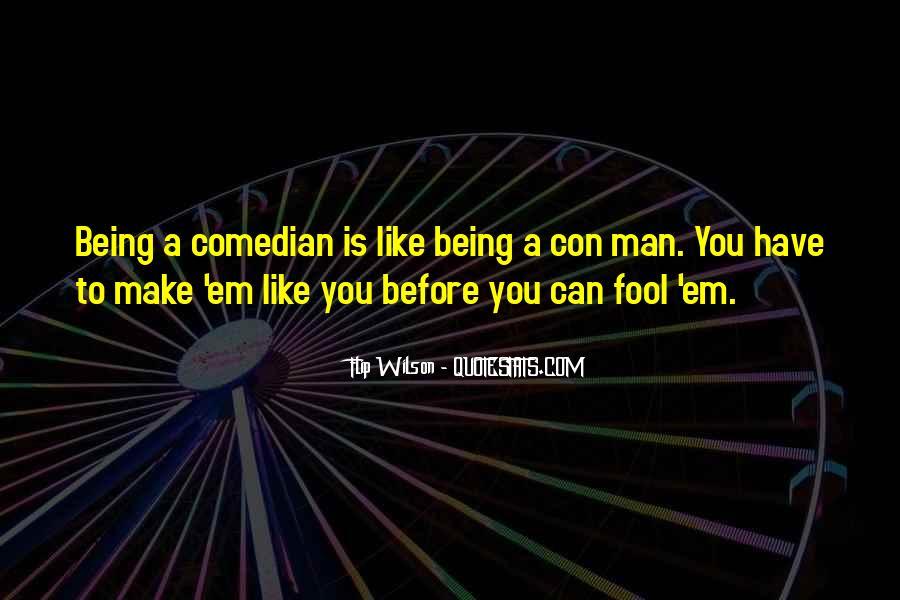 Quotes About Con Men #839754