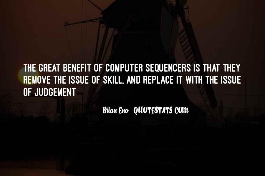 Quotes About Computer Skills #40331