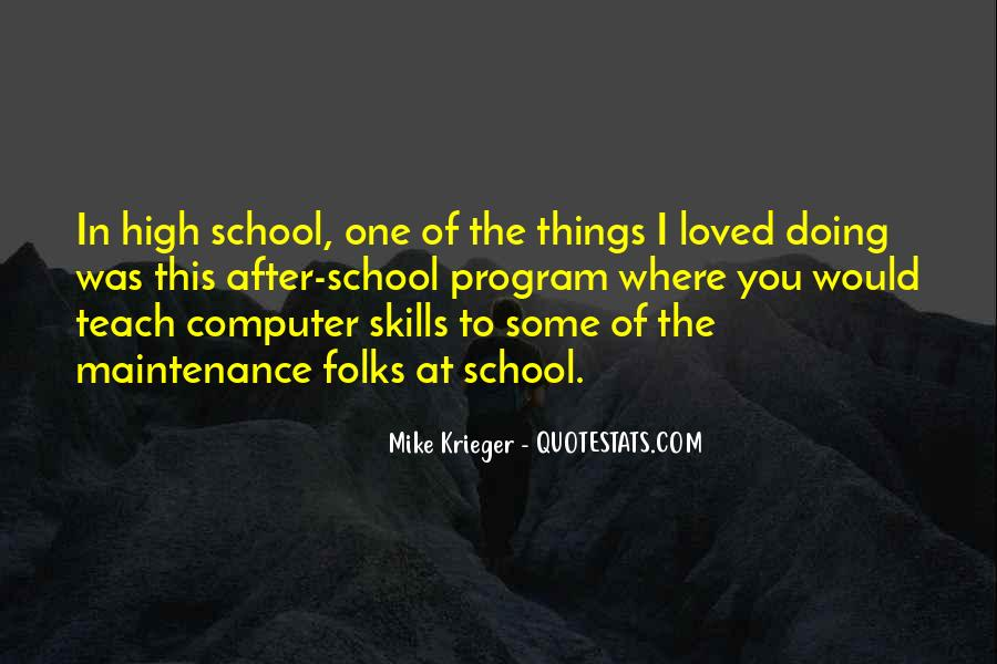 Quotes About Computer Skills #591142