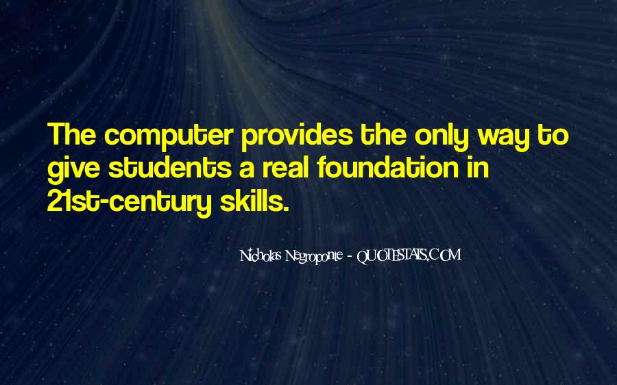 Quotes About Computer Skills #925778