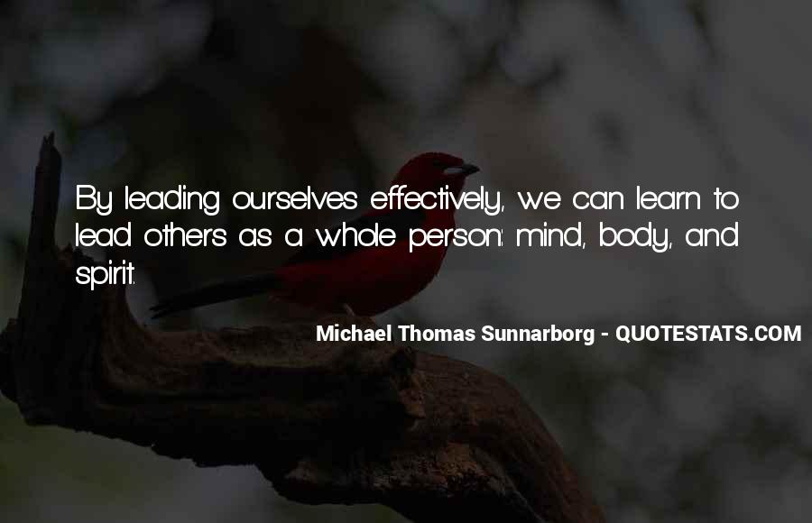 Mind And Body Balance Quotes #1731299