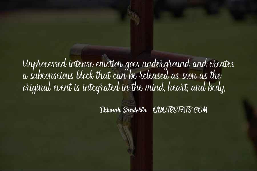 Mind Block Quotes #1217440