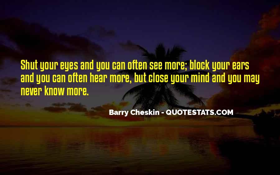 Mind Block Quotes #362419