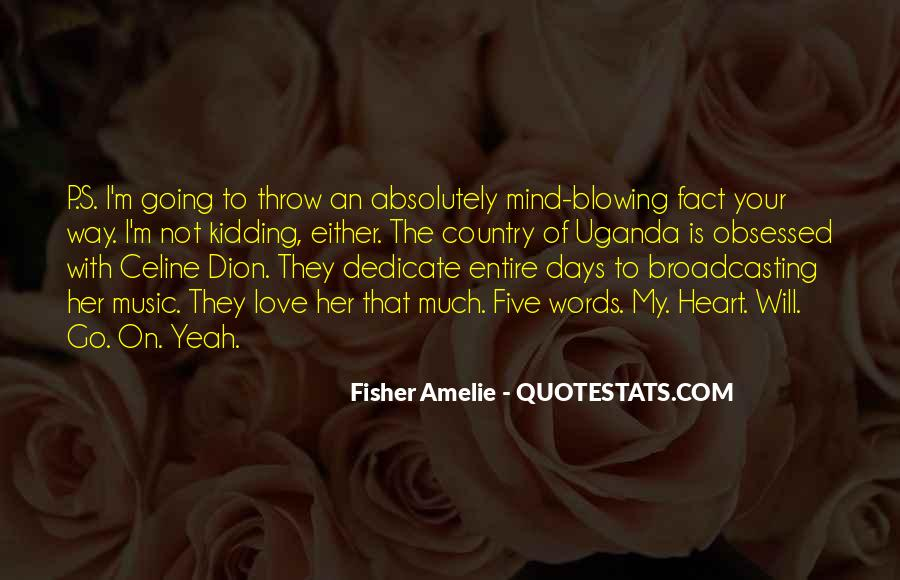 Mind Blowing Music Quotes #28618