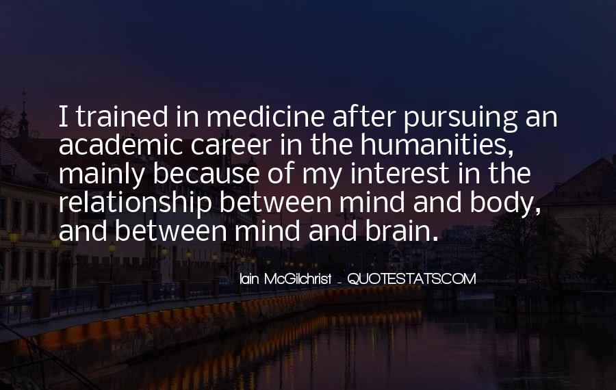 Mind Body Medicine Quotes #148682