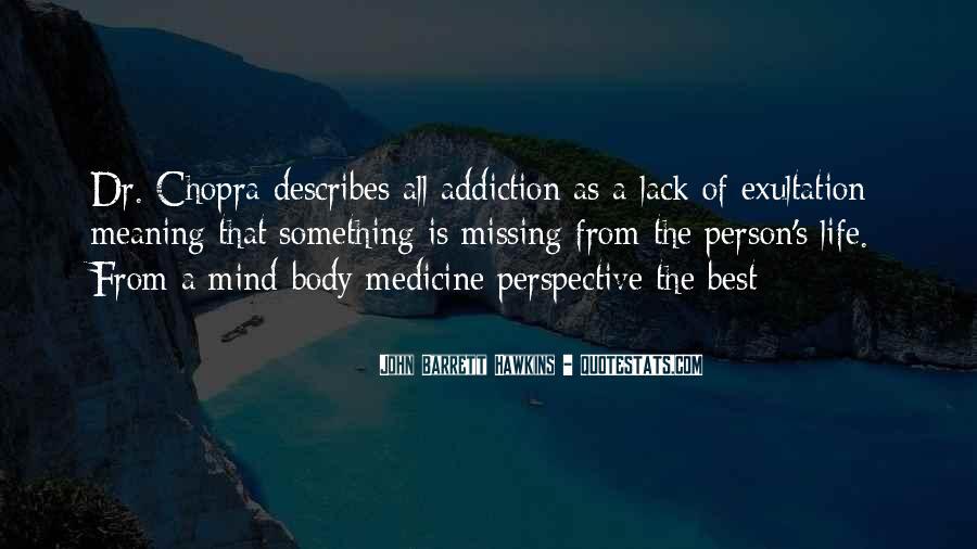 Mind Body Medicine Quotes #1764966