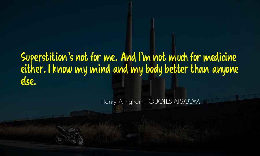 Mind Body Medicine Quotes #342469
