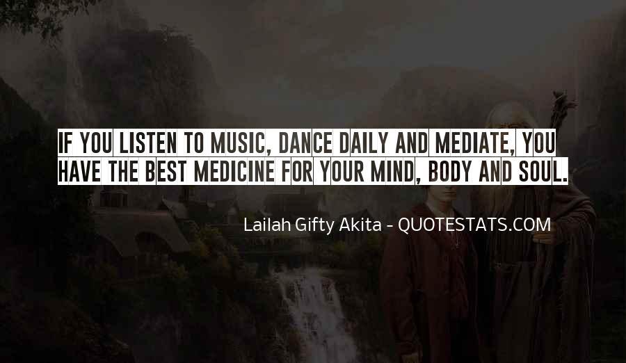 Mind Body Medicine Quotes #759706