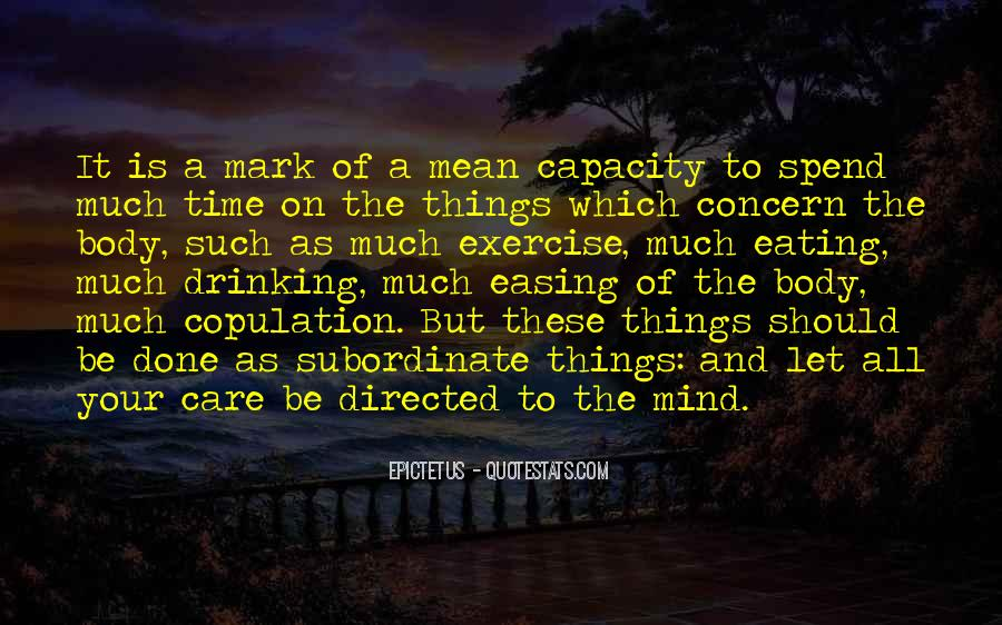 Mind Easing Quotes #1515849