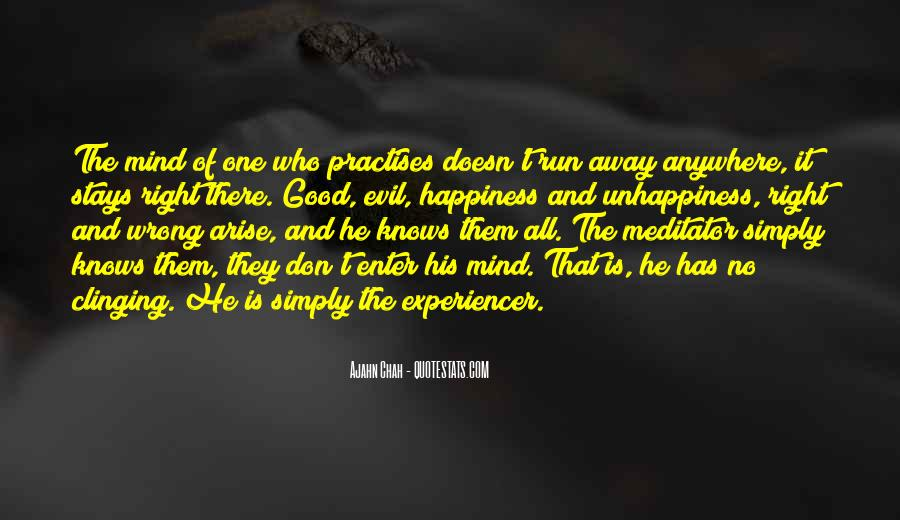 Mind Is Running Quotes #1158086