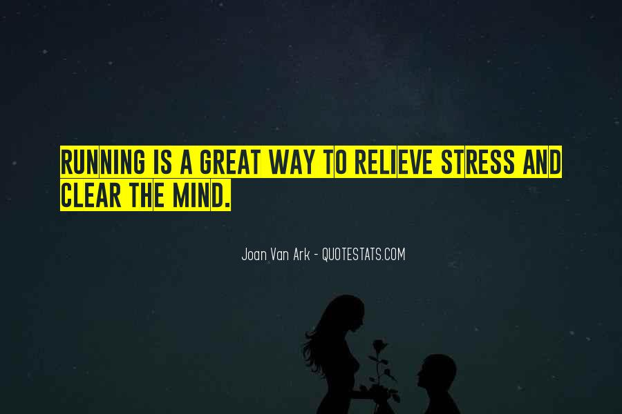Mind Is Running Quotes #1317620