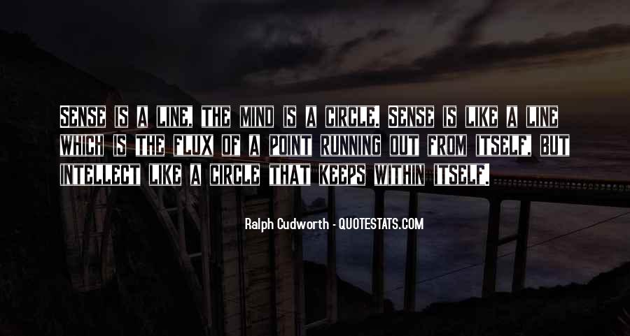 Mind Is Running Quotes #1369869