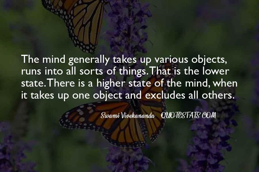 Mind Is Running Quotes #1557291