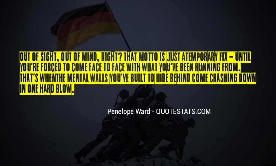 Mind Is Running Quotes #1573918