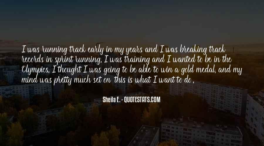 Mind Is Running Quotes #1645809