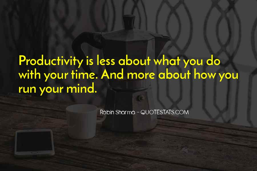 Mind Is Running Quotes #1794310