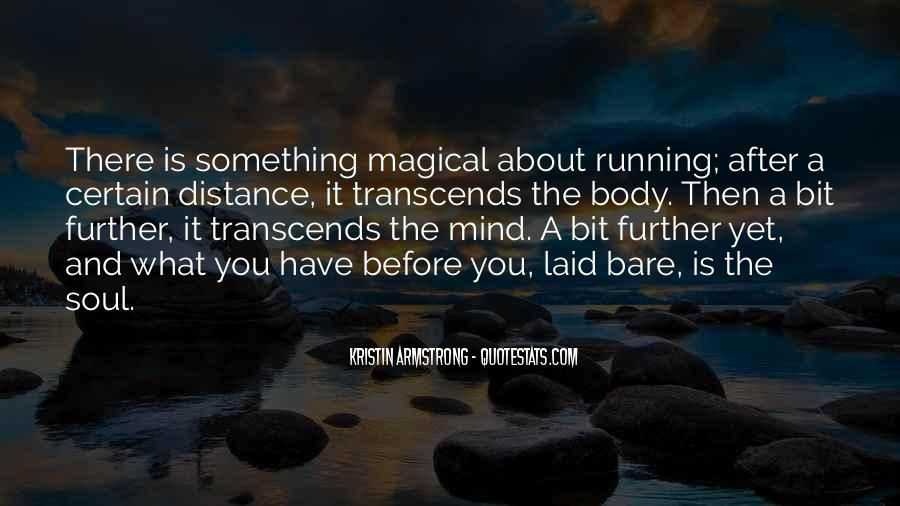 Mind Is Running Quotes #18075