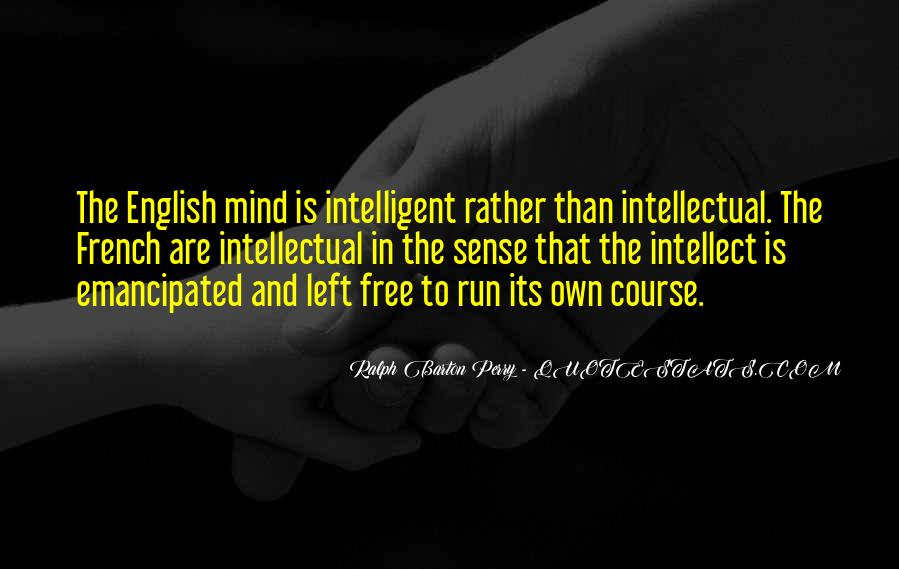 Mind Is Running Quotes #1807508