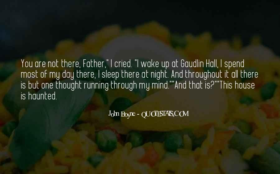 Mind Is Running Quotes #261491