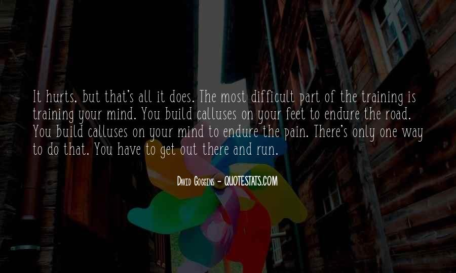 Mind Is Running Quotes #326965