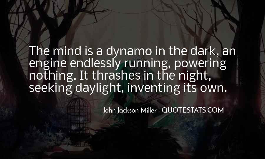 Mind Is Running Quotes #49817