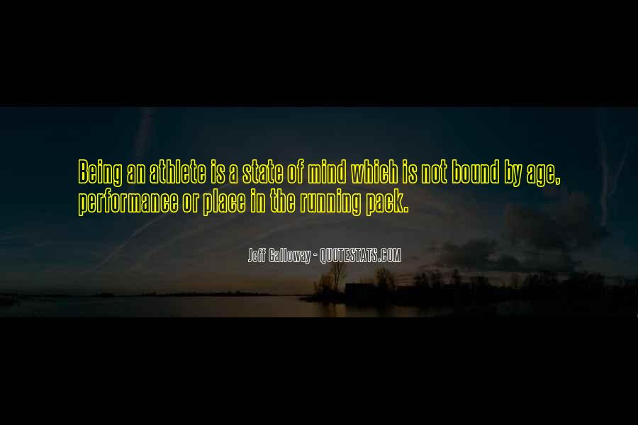 Mind Is Running Quotes #648226